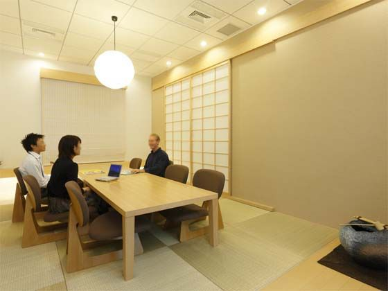 japanese style office. |Japanese-style Meeting Room|The Japanese Style Delights Visitors From Other Countries. Office