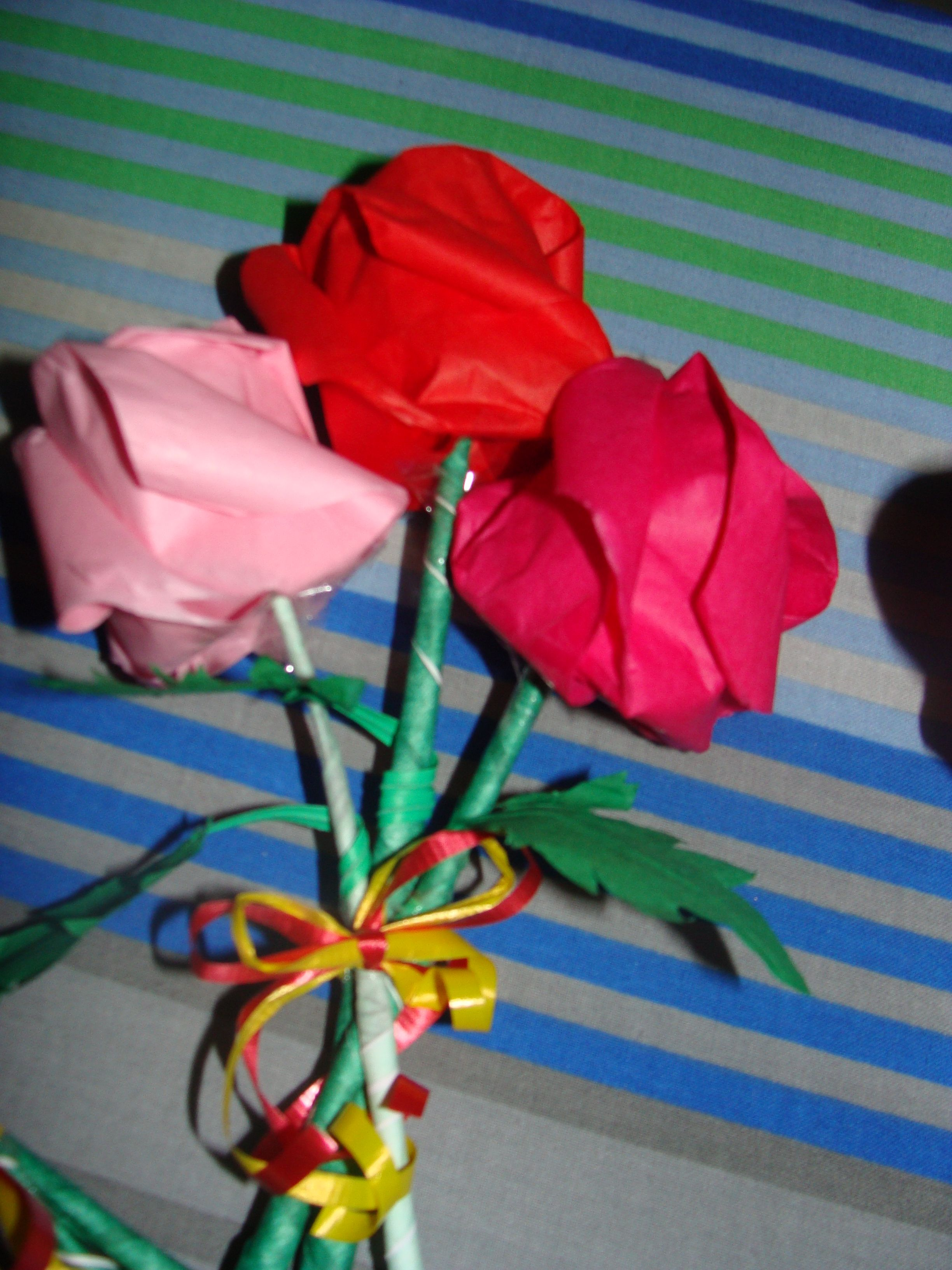 Origami rose flowers baby shower decorations pinterest origami origami rose flowers mightylinksfo