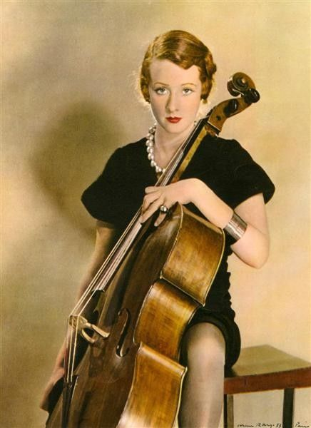 Man Ray - Violoncelle