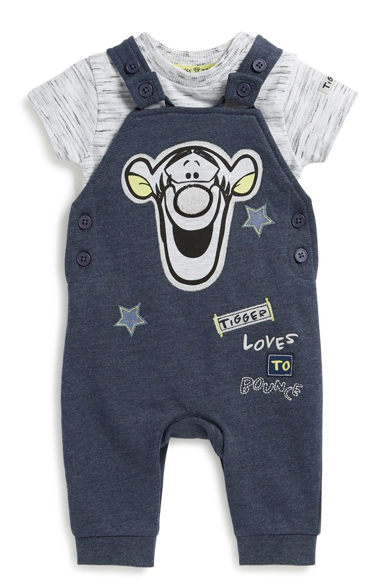 2pcs Boy Set Baby Tops+Pants Kids Outfit Children Clothes 0-24 M Winnie the Pooh