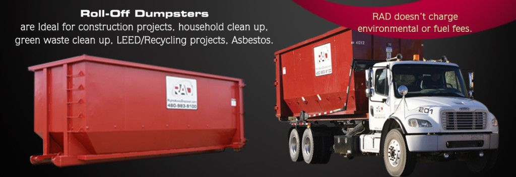 Call 480 535 7942 For A Roll Off Dumpster In Mesa Az No Added Fuel Or Environmental Fees Mesaaz Trashrem Roll Off Dumpster Dumpster Rental Trash Removal