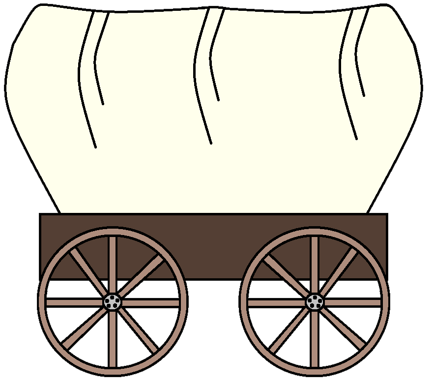 western images clip art download the png files here clip art rh pinterest com covered wagon clipart free pioneer covered wagon clipart