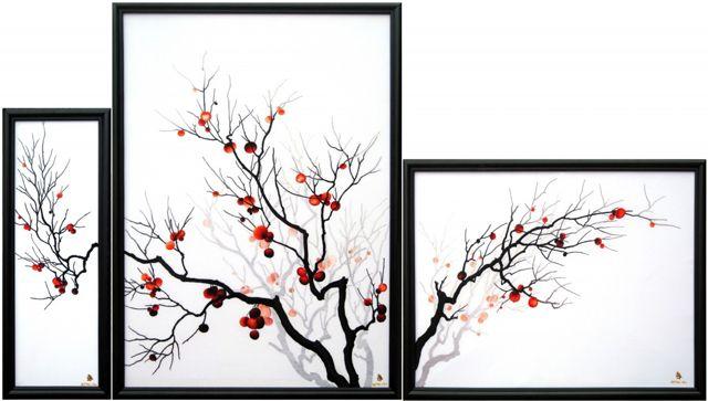 Vietnam embroidered art