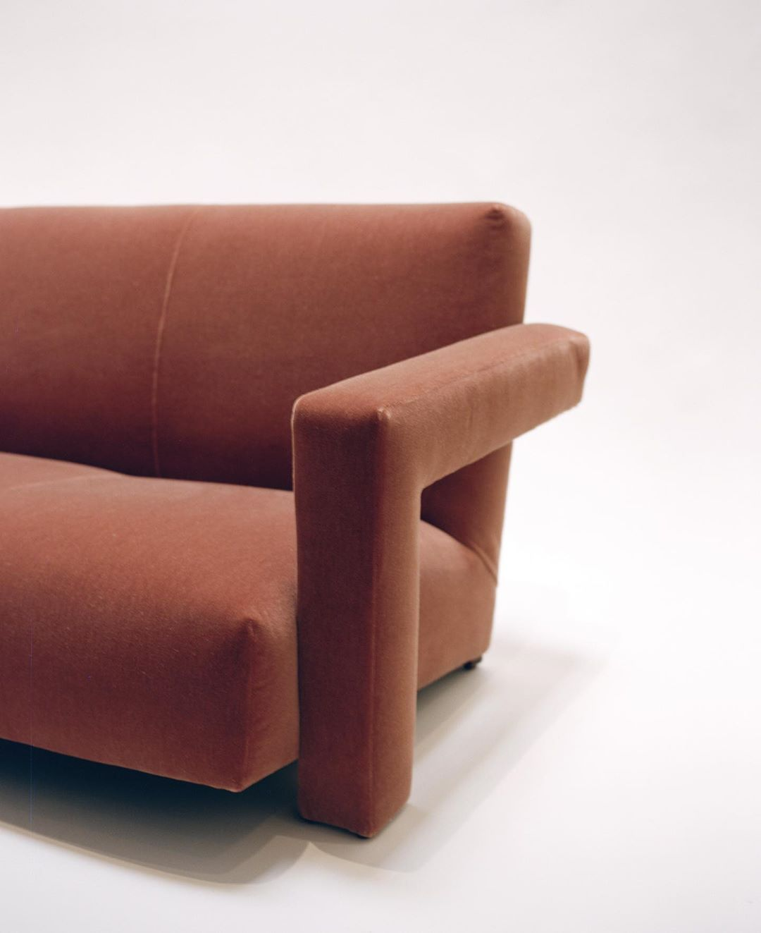 Formative Modern On Instagram Gerrit Thomas Rietveld Upholstered Three Seater Sofa Later Called The Utrecht Sofa Three Seater Sofa Three Seater Upholster