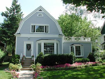 Park Ridge Il Dutch Colonial Style Home In Vinyl Siding Traditional Exterior Dutch Colonial Homes Dutch Colonial Exterior Colonial Exterior