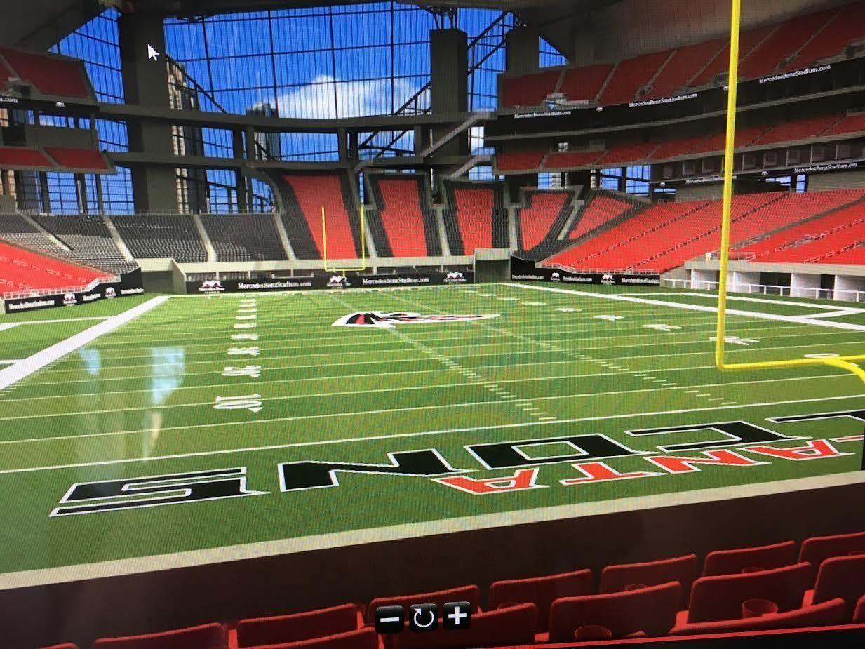 Tickets 2 2017 Atlanta Falcons Football Season Tickets Lower Level Field 8th Row Tickets Atlanta Falcons Football Falcons Football Season Ticket