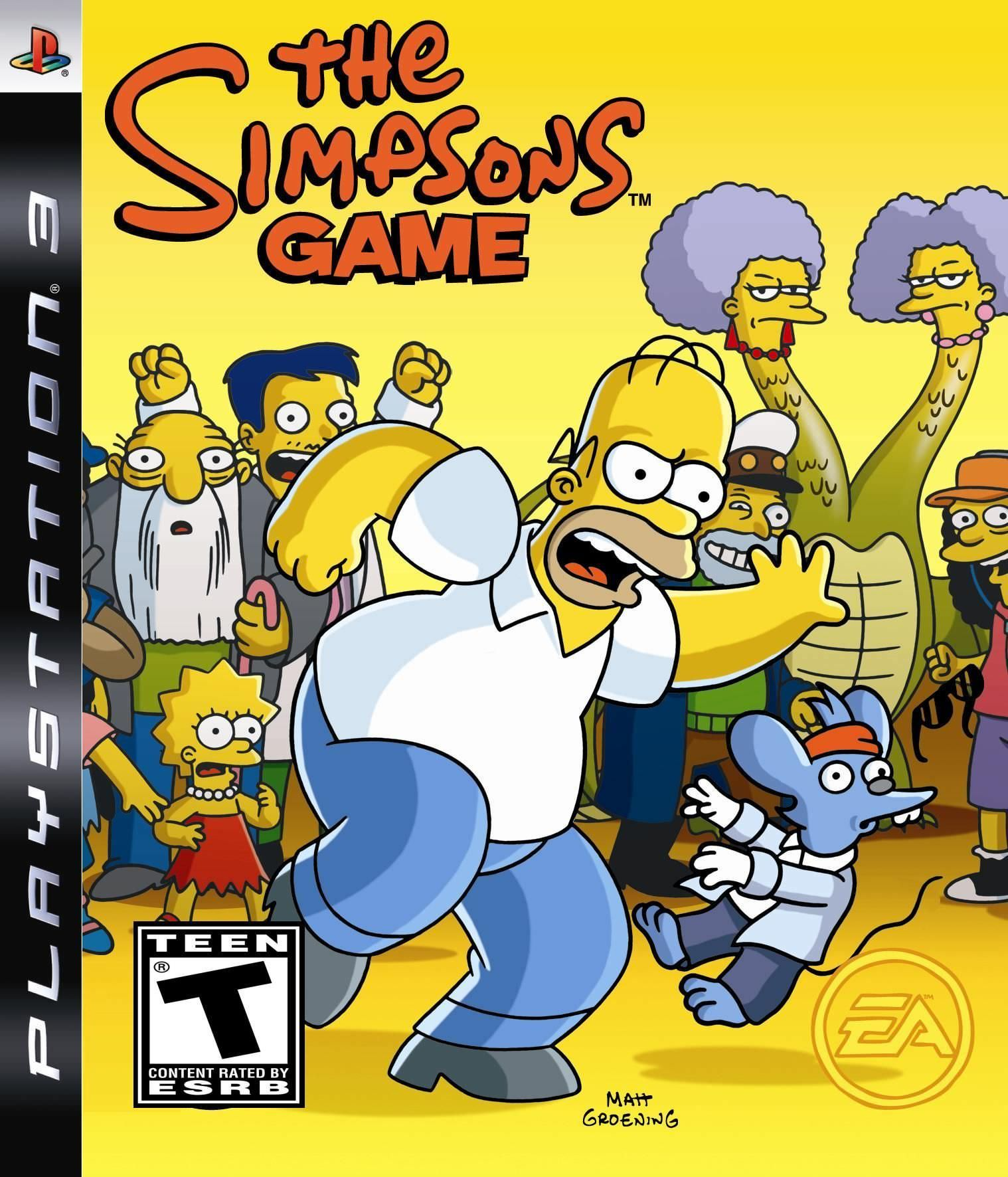 Pin by Rachael Bradford on Ps3 The simpsons game, The