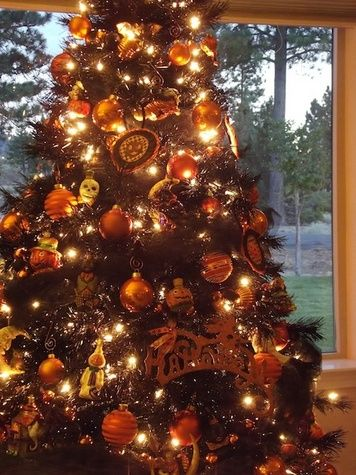 ideas for halloween decorating google search - Black Halloween Tree