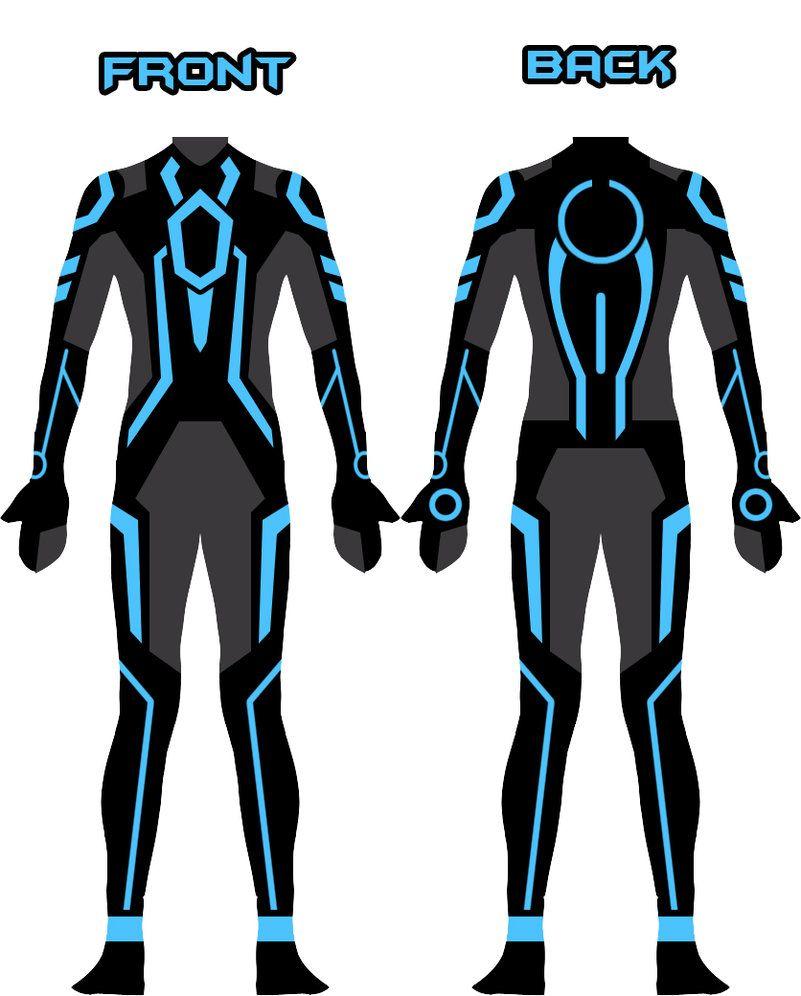 My new Tron suit design by Xelku9 on DeviantArt (com imagens ...