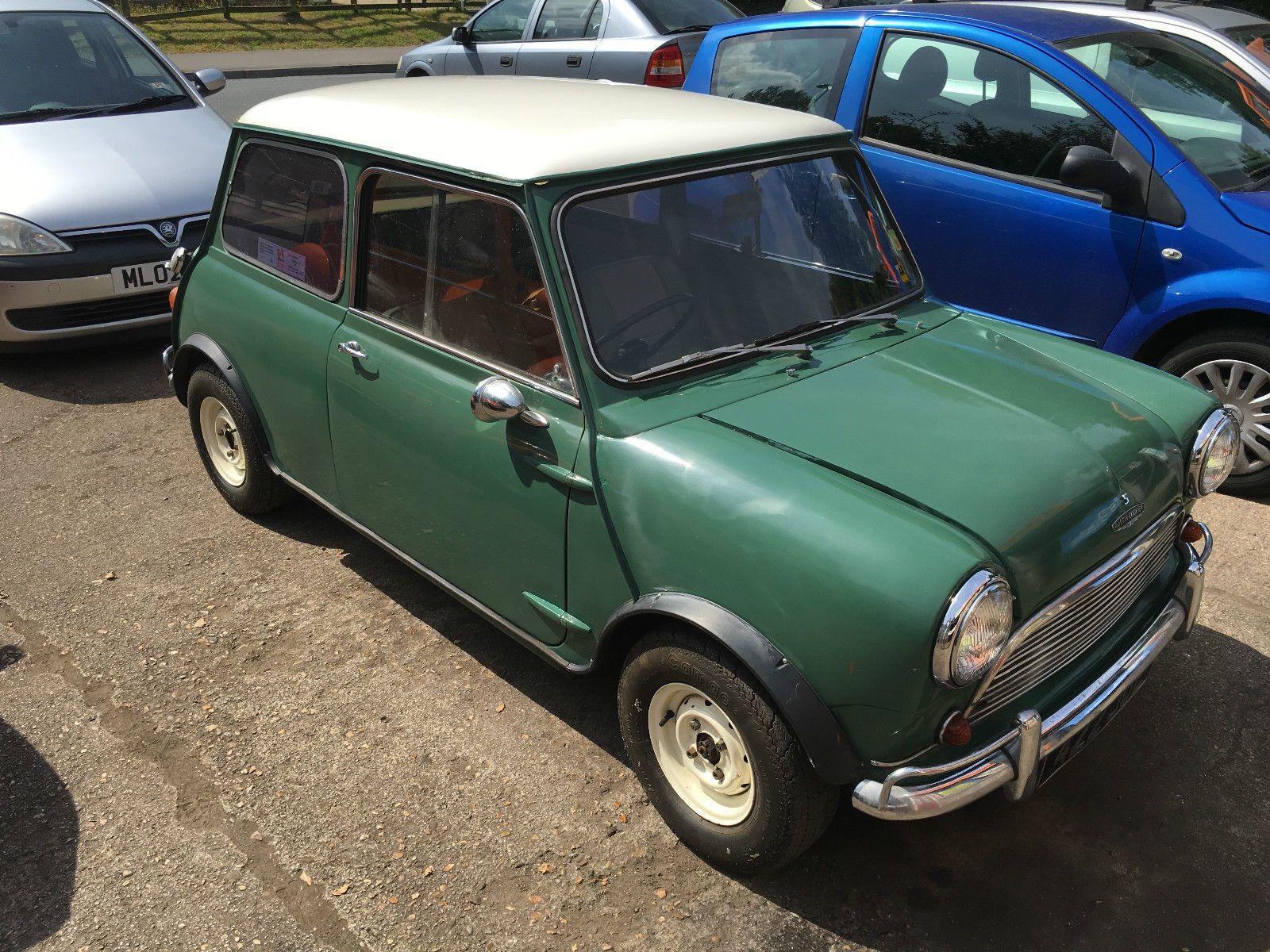 1963 Austin Mini Cooper S 1071cc Ebay Mini Cooper S Mini Cooper Classic Mini