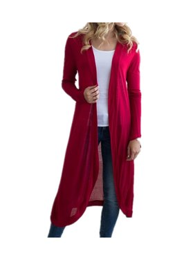 Womens Clothing Walmart Com Cardigan Sweaters For Women Sweaters For Women Long Knit Cardigan