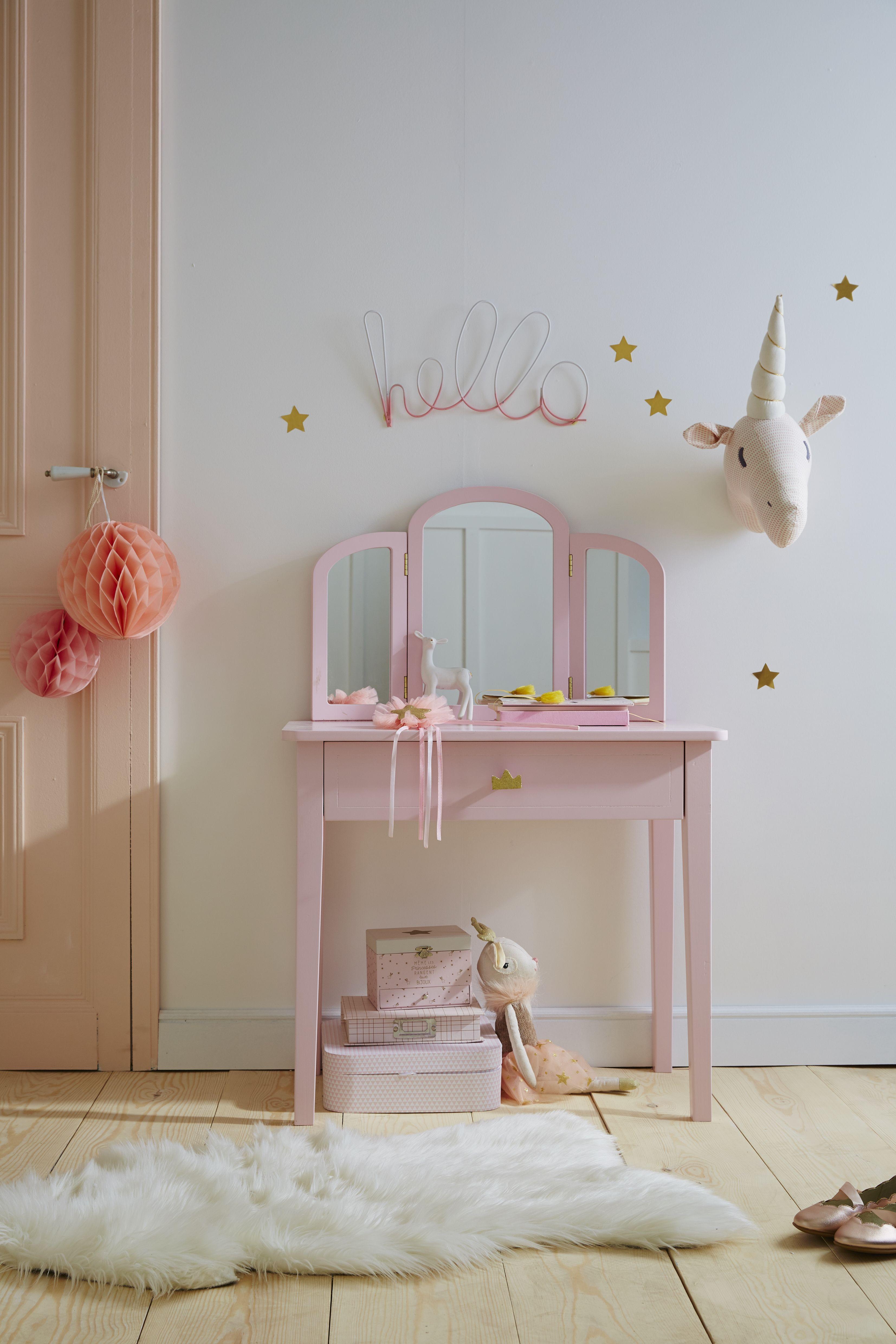 Petite Coiffeuse Princesse Rose La Maison Vertbaudet En
