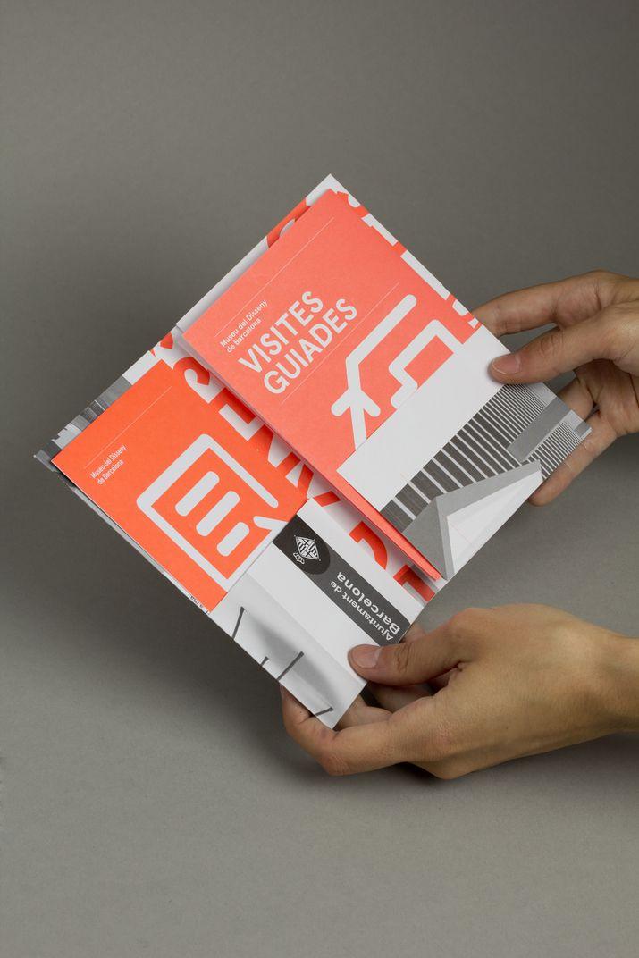 DHUB Leaflet (Print, Identity) by Lo Siento Studio, Barcelona