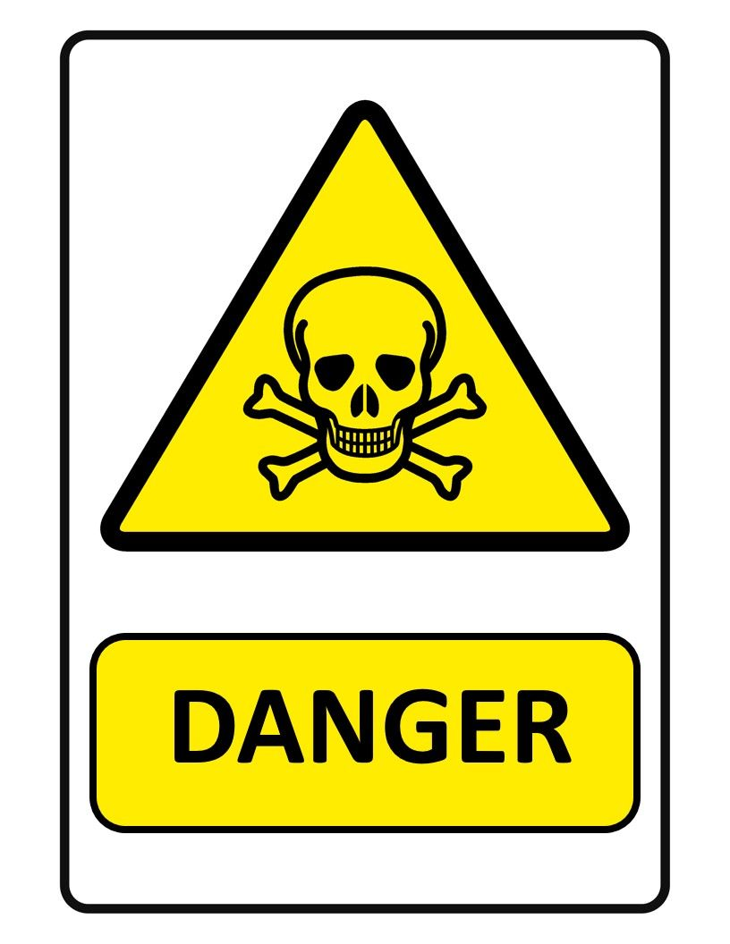 Danger Sign Looking For A Danger Sign Download This Professionally Looking Danger Sign Template Now Sign Templates Signs Danger Signs