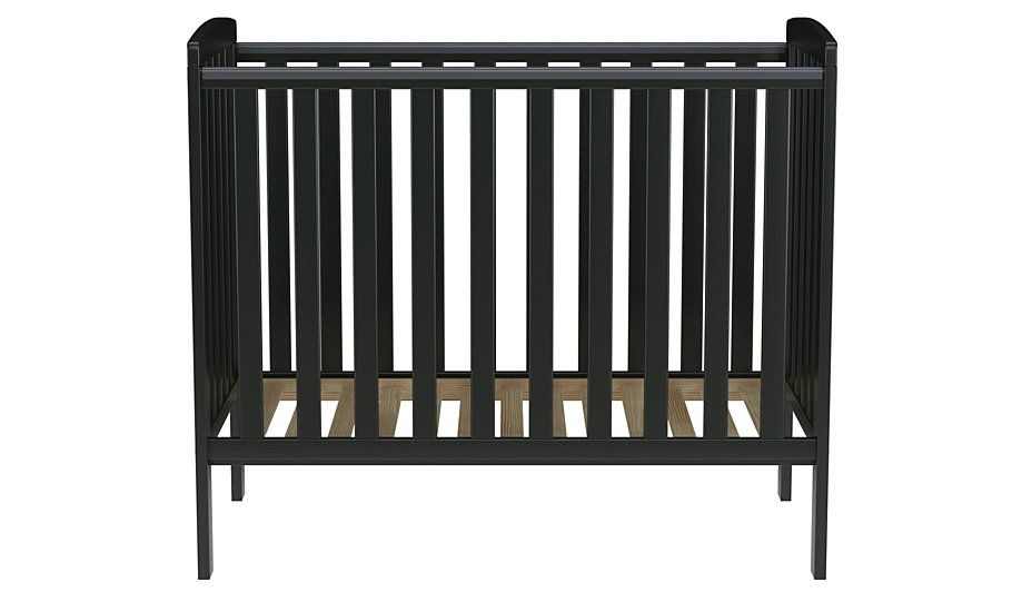 new product 0e33c c8708 Rafferty Compact Cot - Black | Stuff for Casey | Cot ...