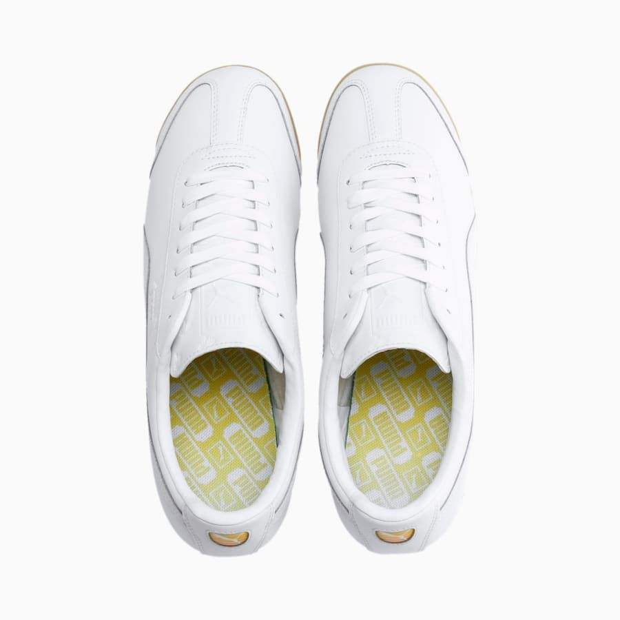 Photo of Men's PUMA Roma Classic Venice Beach Sneakers,  White, size 5.5, Shoes