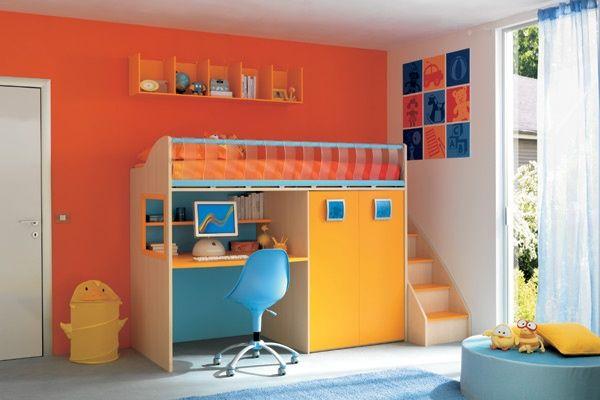 Dormitorios ni os colores inspiraci n de dise o de for Dormitorio ninos diseno