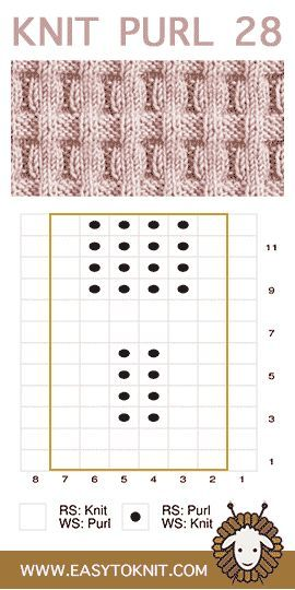 Photo of Knit and Purl Stitches for Beginner Knitters #knitpurl #knittingstitches