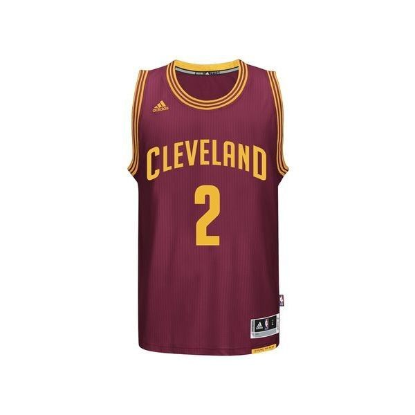 adidas Kyrie Irving Cavaliers Road Swingman Jersey ( 110) ❤ liked on  Polyvore featuring men s fashion and red 709263b8d