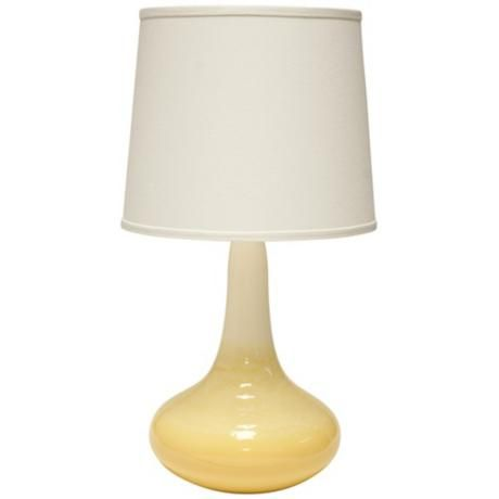 Haeger Potteries Gene Cloud Yellow Ceramic Table Lamp 3c774 Lamps Plus Ceramic Table Lamps Lamp Table Lamp