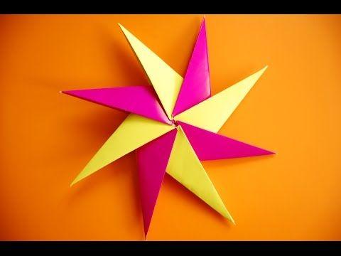 Como Hacer Una Estrella Ninja De Papel Youtube Origami Carta Papere