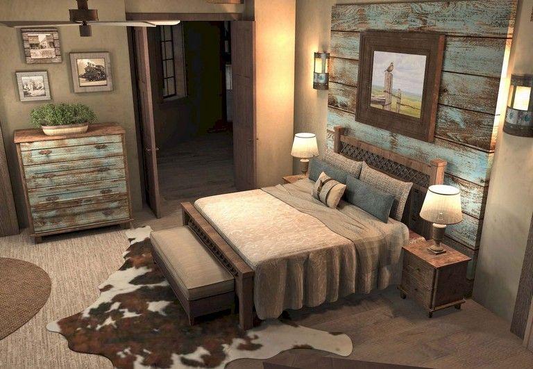 87 Lovely Master Bedroom Ideas Rustic Romantic Bedroom Remodel