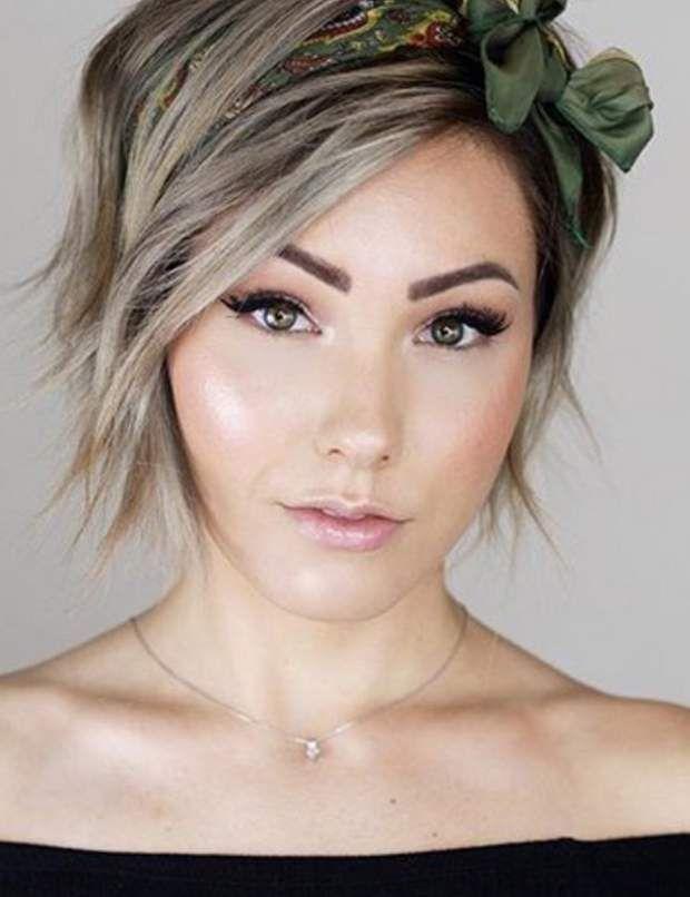 Mariage : nos idées de coiffures pour cheveux courts en 2020 | Coiffure mariage carre plongeant ...