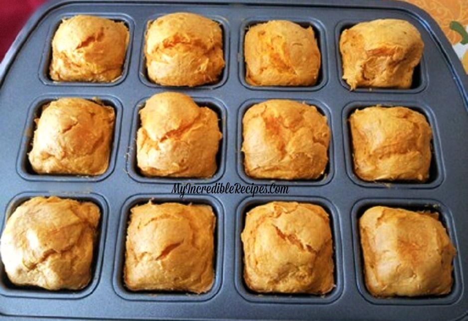 2 Ingredient Pumpkin Cupcakes Recipe Pumpkin Cupcakes