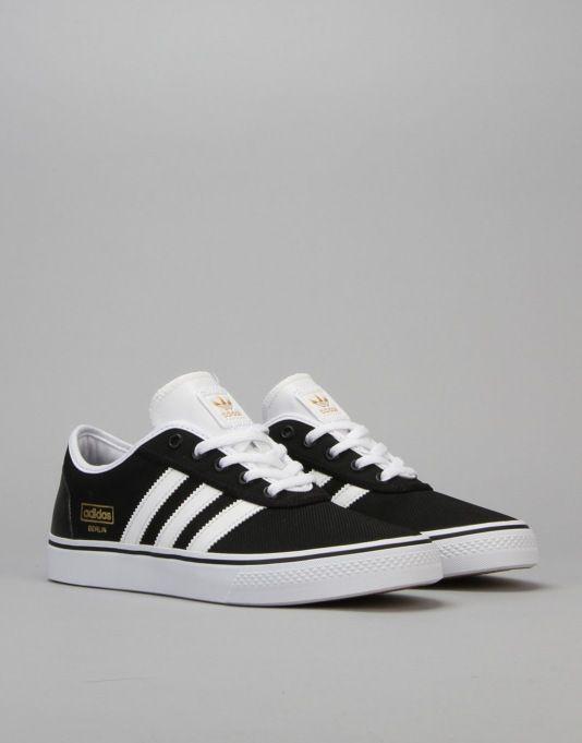 best website bf9aa 6b3c7 Adidas Adi-Ease Skate Shoes - Core BlackFTWR WhiteGold Met
