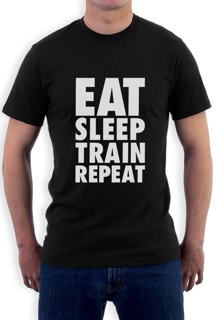 bfb45a477c2 EAT SLEEP TRAIN REPEAT T-Shirt