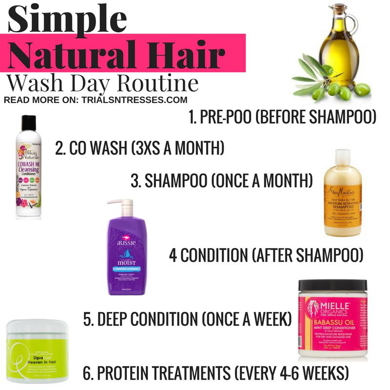 Simple Natural Hair Wash Day Routine Trials N Tresses Natural Hair Washing Natural Hair Styles Washing Hair