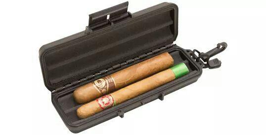 Cigar case interior