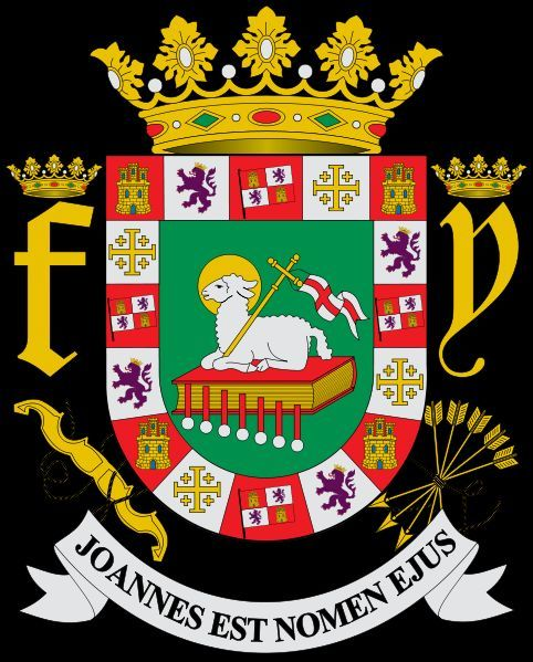 coat of arms of puerto rico puerto rico s coat of arms