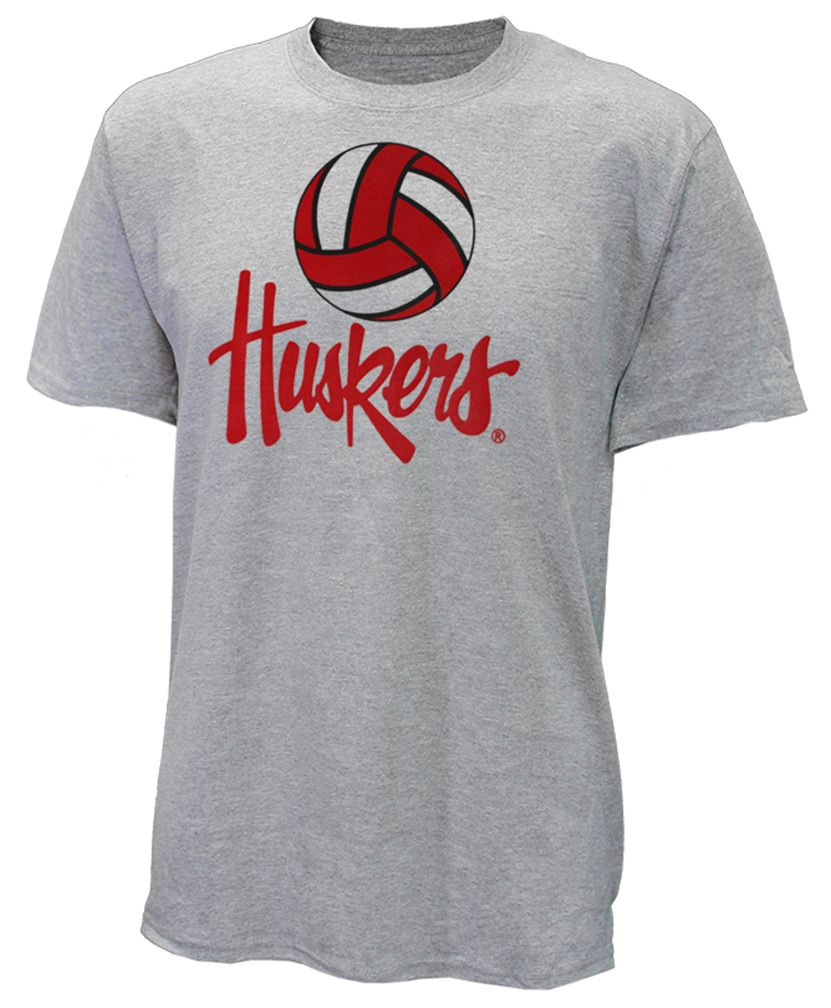 Huskers Volleyball Tee Volleyball Tees Husker