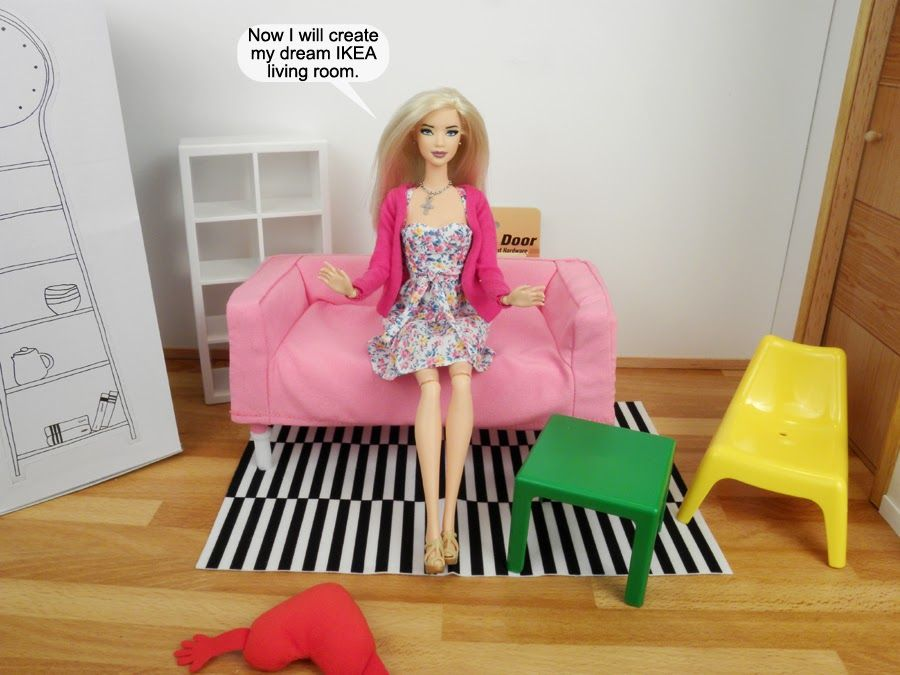 roville dolls | the ikea huset living room setup retails for $ 13 18 ...