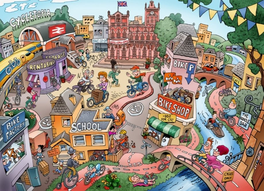 Busy Pictures For Esl Google Search Pictures Cycling Art Esl