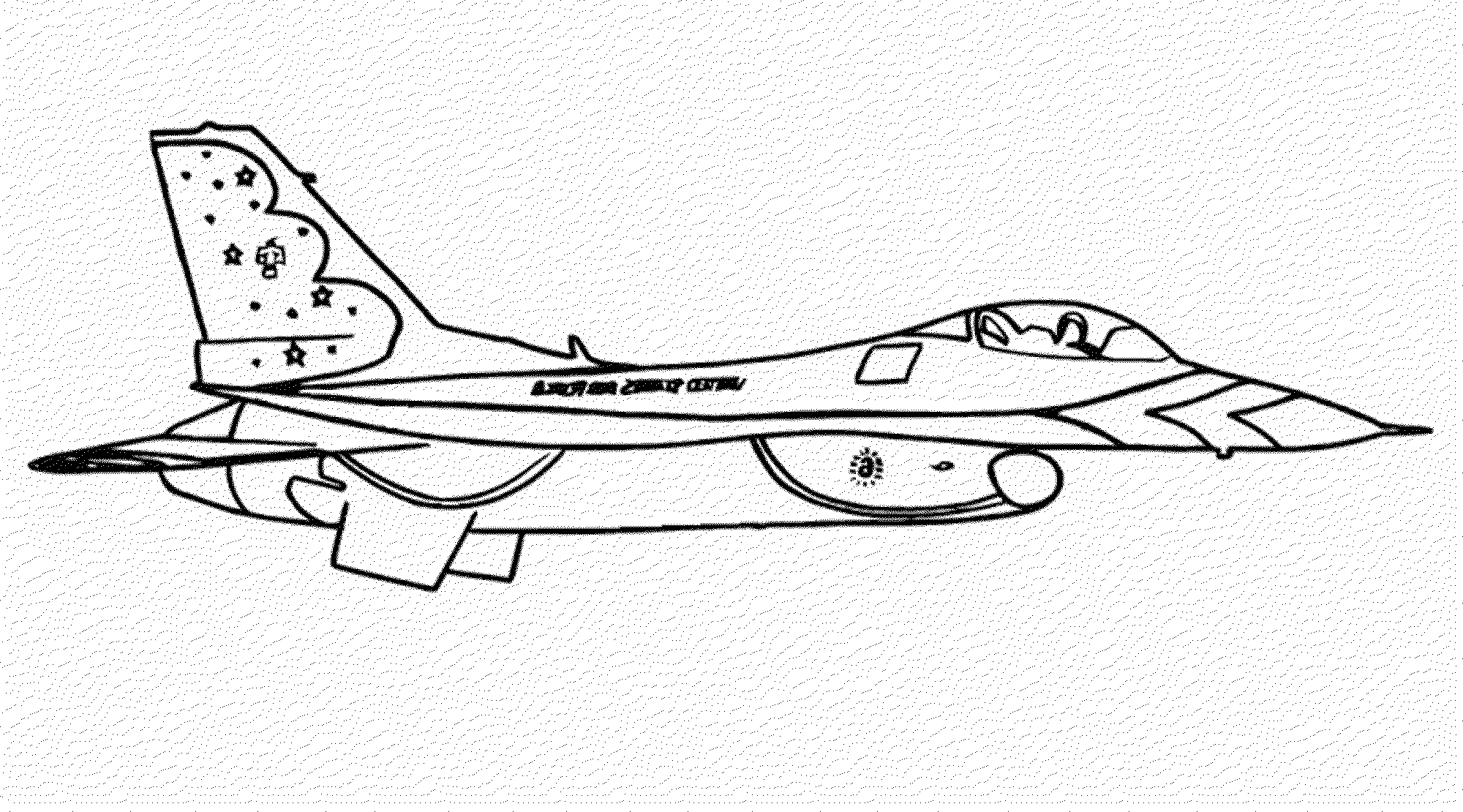 Armyirplane Coloring Pages