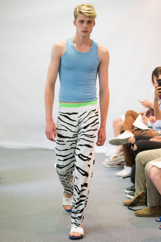 Lucien Pellat Finet Spring 2018 Menswear Fashion Show