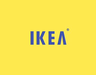 """Check out new work on my @Behance portfolio: """"IKEA Logo Redesign"""" http://be.net/gallery/31737251/IKEA-Logo-Redesign"""