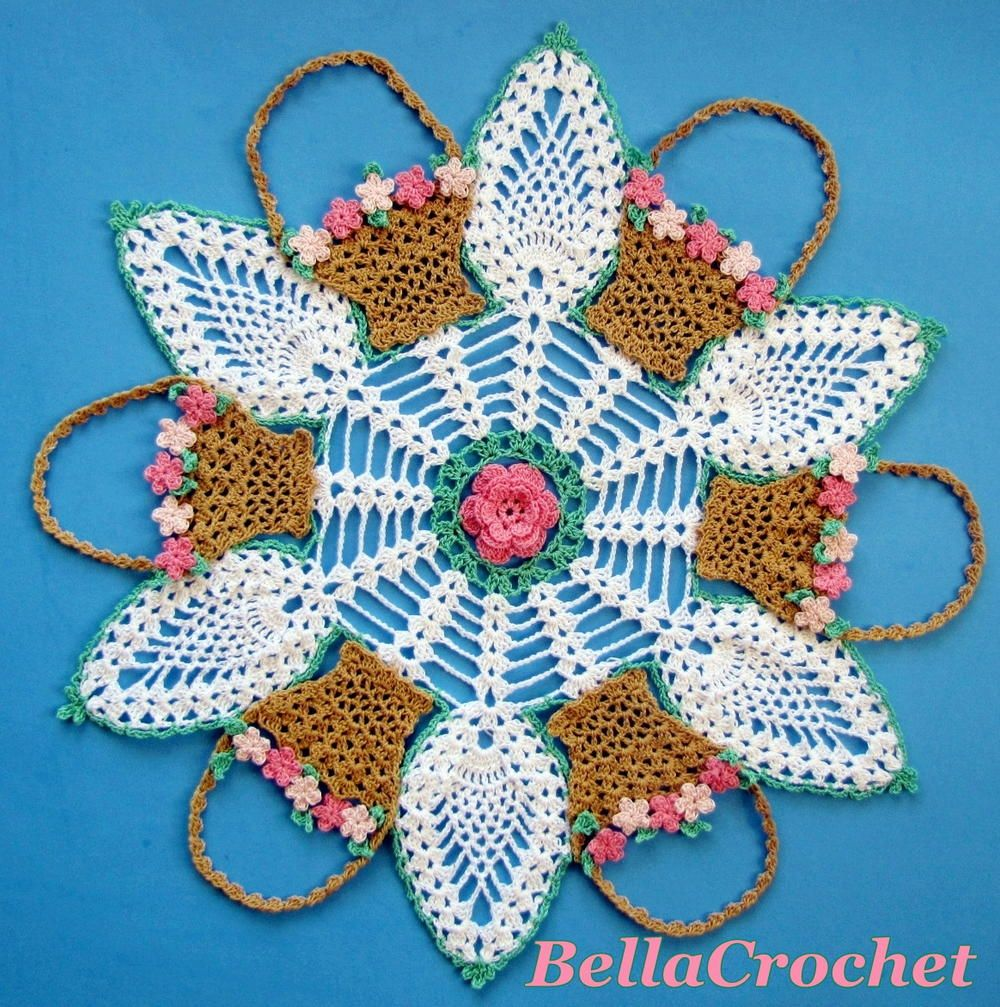 Pineapple doily pattern patterns crochet and crochet doilies allfreecrochet free crochet patterns crochet projects tips video how bankloansurffo Images