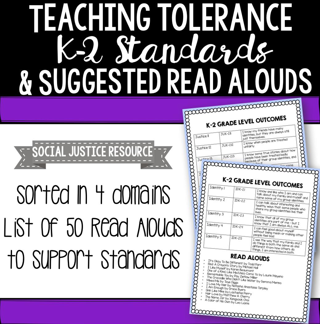 Teaching Tolerance K