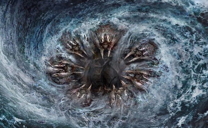 Charybdis A Giant Whirlpool In 2019 Greek Monsters