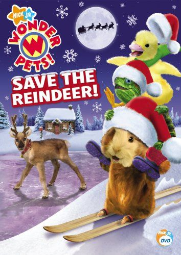 Wonder Pets Save The Reindeer Wonder Pets Pets Classroom Pets