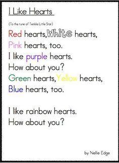 valentine poems for kindergarten - google search | valentines, Ideas