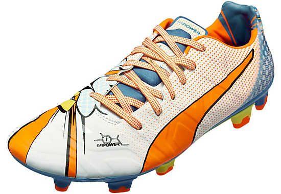 4edb0c8b5b54 Puma evoPOWER 1.2 Graphic FG Soccer Cleats. Get it today! | Soccer ...