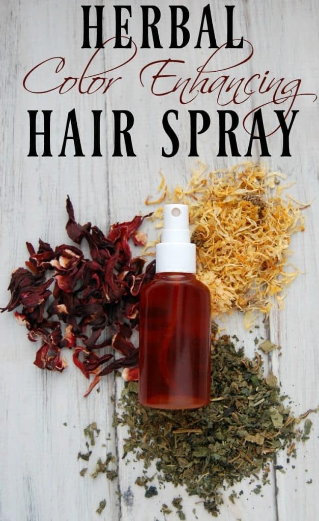 Herbal Color Enhancing Hair Spray