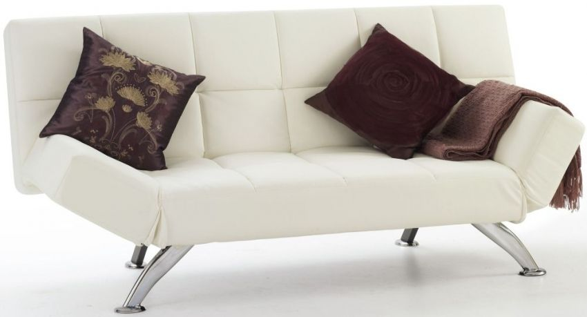 Faux Leather Sofa Bed Uk Stressless Sofas And Chairs Serene Venice Orchid White London Buy Online Cfs