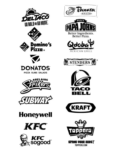 Free Logos Vector Brands Deltaco Go Bold Or Go Home Panera Bread Papa Johns Better Ingredients Better Pizza Domino S Pizza Qd Taco Bell Kfc Eat Logo