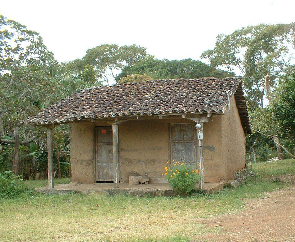 Humilde San Antonio Paritilla Pocri De Los Santos Pinturas De Casas Casas De Campo Sencillas Casas Humildes