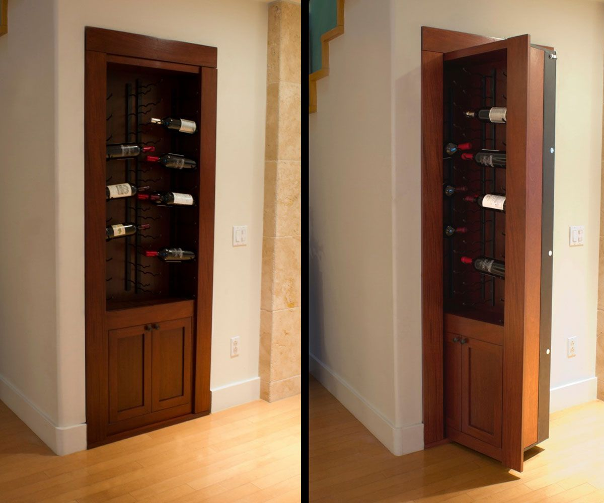Diy Hidden Door Hinge System Door Hinges Hidden Door Hinges And Doors